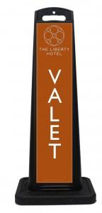 Liberty Hotel Valet Sign
