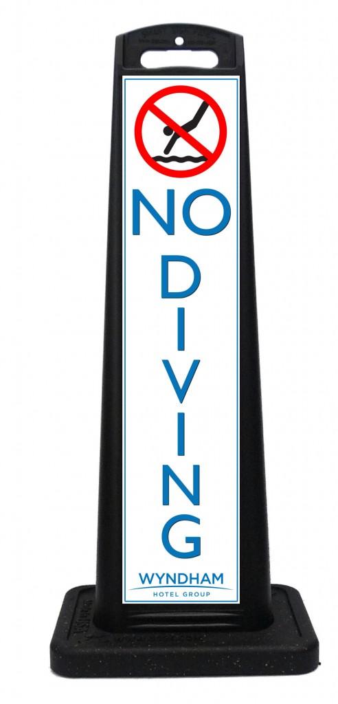 Portable hotel resort pool sign custom portable signs for 7047 design hotel