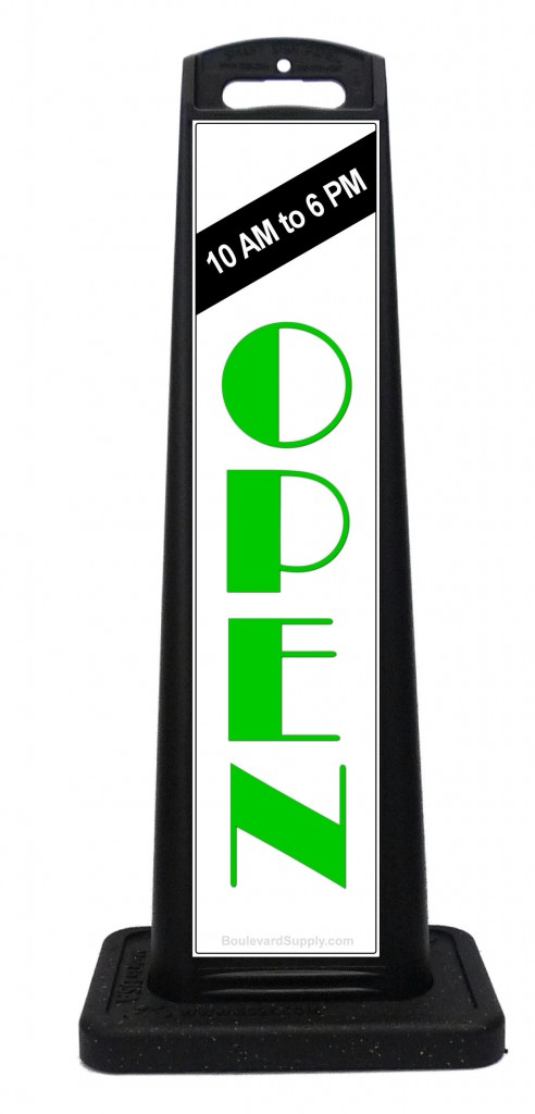 Portable Store Open Sign
