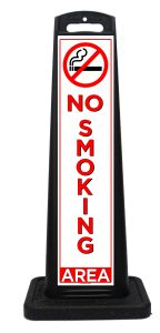 Portable No Smoking Sign