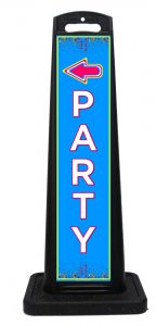 Portable Party Signs
