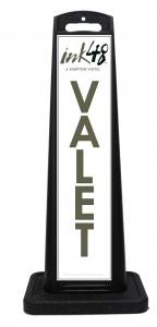 Portable Valet Sign