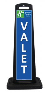 Portable Valet Signs for Hotels