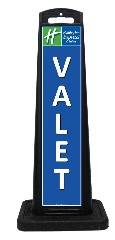 Portable valet signs for hotels custom portable signs for 7047 design hotel