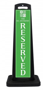 St Anthony Hotel Reserved Sign