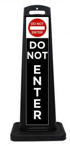 Portable Do Not Enter Sign
