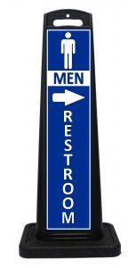 Portable Mens Restroom Sign