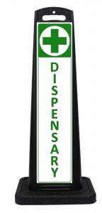 Portable Medical Dispensary Sign